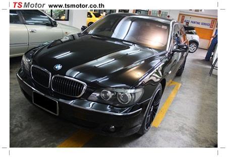 IMG 0014 [ซ่อมสี] BMW Series 7 ซ่อมเชื่อมกันชน และพ่นสี Body