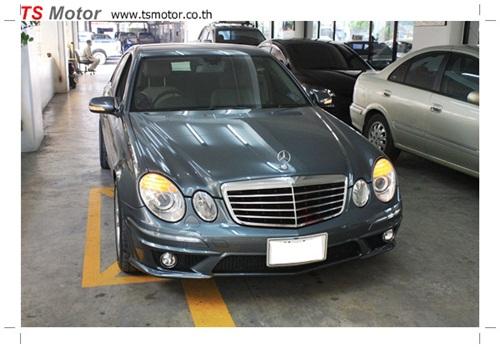 IMG 68971 [แต่งรถกันหน่อย] Mercedes E200 เปลี่ยนพ่นสีชุดแต่งรอบคัน
