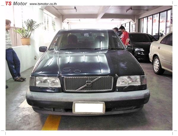 IMG 0163 ทำสี Volvo 850 รอบคัน