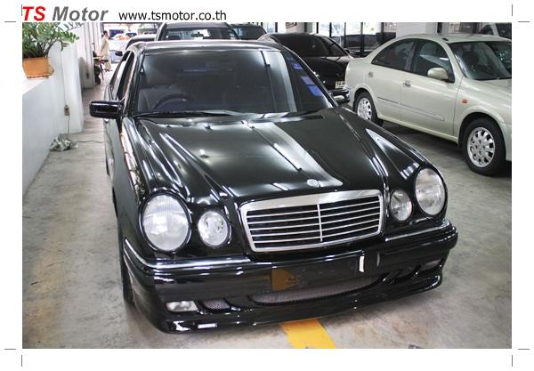 IMG 6922 ทำสีรอบคัน Benz W210 E class Brabus