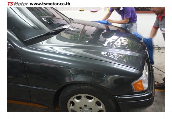 IMG 1269 [ทำสีรอบคัน] Mercedes Benz C220 สีเทาดำ พร้อมเคลมประกัน