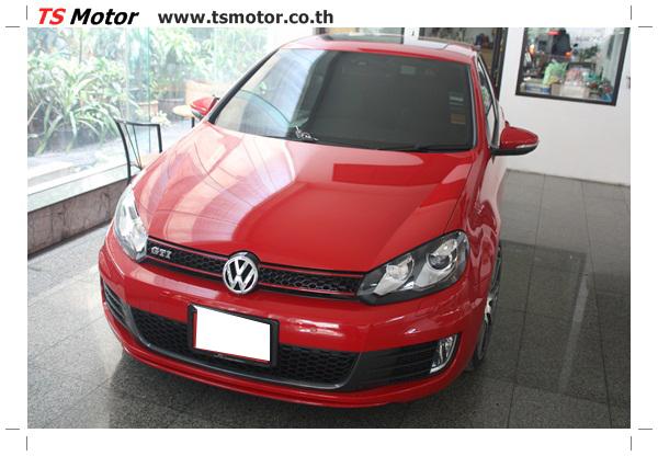 IMG 1549 [ทำสีรถ] Volkswagen Golf MK6 GTI สีแดง