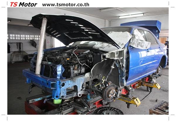 IMG 3268 [รถแต่ง] Subaru Imprezza น้ำเงิน ซ่อมสีจากการชน