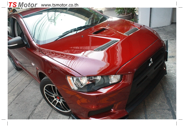 IMG 4045 [รถแต่ง] พ่นสีชุดแต่ง Mitsubishi Lancer EX