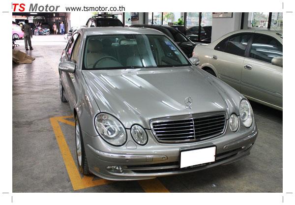 IMG 6766 [ซ่อมสีรถ] Mercedes Benz E270 รอบนอก รอบคัน