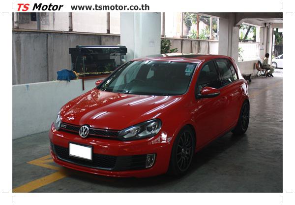 IMG 2195 งานซ่อมสี Volkswagen Golf GTi สีแดง จากอู่สี TS Motor