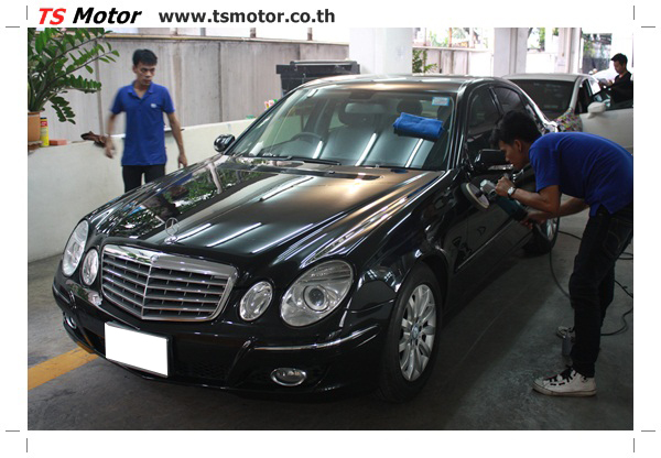 IMG 2163 Glass Coating กับ TS Motor: Mercedes Benz W211 Glass Coating Project