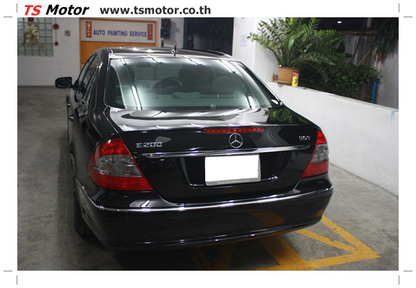 IMG 2167 Glass Coating กับ TS Motor: Mercedes Benz W211 Glass Coating Project