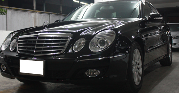 Glass Coating กับ TS Motor: Mercedes Benz W211 Glass Coating Project