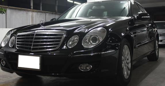 Glass Coating กับ TS Motor: Mercedes Benz W211 Glass Coating Project