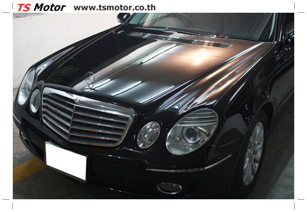 IMG 2176 Glass Coating กับ TS Motor: Mercedes Benz W211 Glass Coating Project