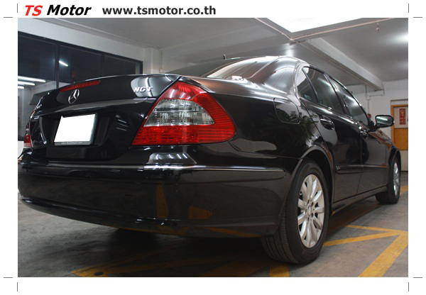 IMG 2178 Glass Coating กับ TS Motor: Mercedes Benz W211 Glass Coating Project