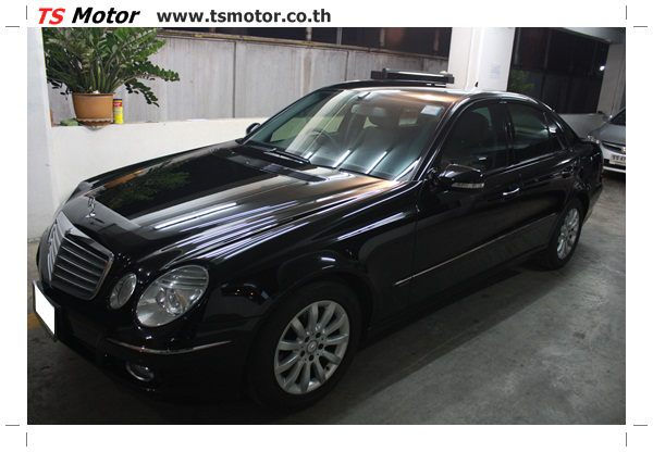 IMG 2183 Glass Coating กับ TS Motor: Mercedes Benz W211 Glass Coating Project