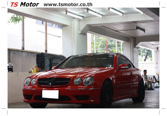 IMG 2260 งานเปลี่ยนสีรถยนต์ Mercedes CLS Coupe รถแรง จากเจ้าสำนัก Wash VIP