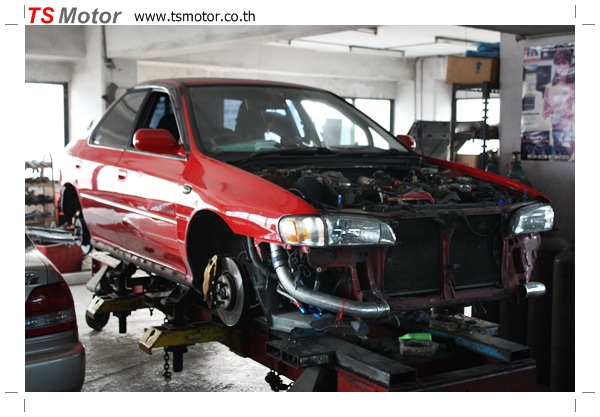 Ts motor car paint collision repair garage in bangkok for Motor vehicle body repair