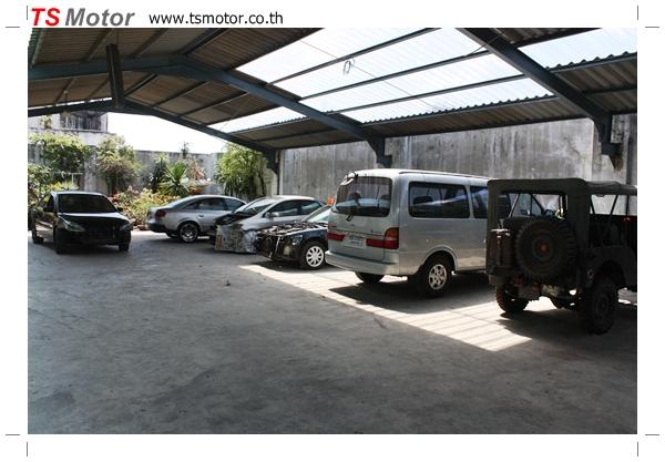 IMG 1775 TS Motor: Auto body repair garage in Pathumwan Bangkok  Insurance Claim Accepted