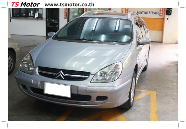 IMG 3296 Citroen C5 VAN body painting repair and fenders: By TS Motor Car Painting Shop (Bangkok, Pathumwan)