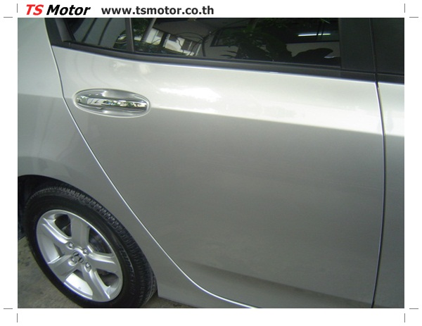 DSC00117 งานตีโป่งรถยนต์ Honda City สีบรอนซ์ทอง โปร่งหน้า โปร่งหลัง พร้อมโมกันชน