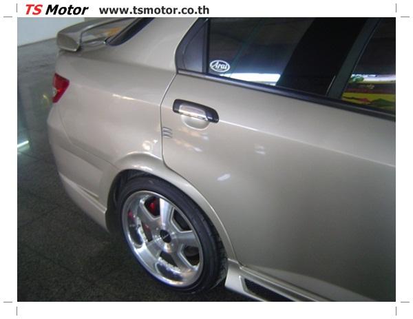 DSC00603 งานตีโป่งรถยนต์ Honda City สีบรอนซ์ทอง โปร่งหน้า โปร่งหลัง พร้อมโมกันชน