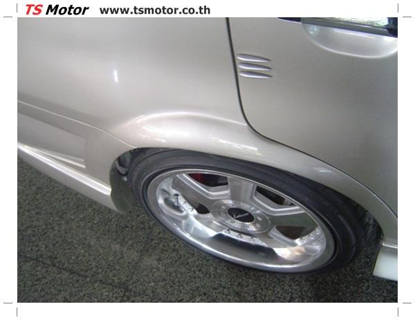 DSC00606 งานตีโป่งรถยนต์ Honda City สีบรอนซ์ทอง โปร่งหน้า โปร่งหลัง พร้อมโมกันชน