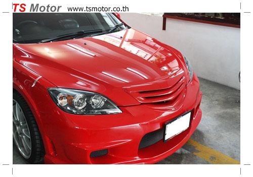 IMG 0283 เปลี่ยนสีรถ รถยนต์ Mazda 3 เป็นสีแดงสด พร้อมตีโป่งรอบคัน Style Mazda Speed + ชุดแต่ง Ing+1