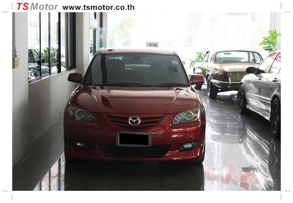 IMG 1139 ซ่อมสีรถยนต์ Mazda 3 เป็นสีแดง รถบ้าน เก็บงานเพื่อความเรียบร้อย