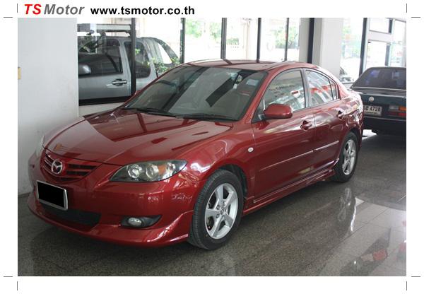 IMG 1140 ซ่อมสีรถยนต์ Mazda 3 เป็นสีแดง รถบ้าน เก็บงานเพื่อความเรียบร้อย