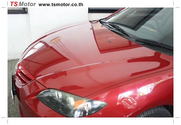 IMG 1141 ซ่อมสีรถยนต์ Mazda 3 เป็นสีแดง รถบ้าน เก็บงานเพื่อความเรียบร้อย