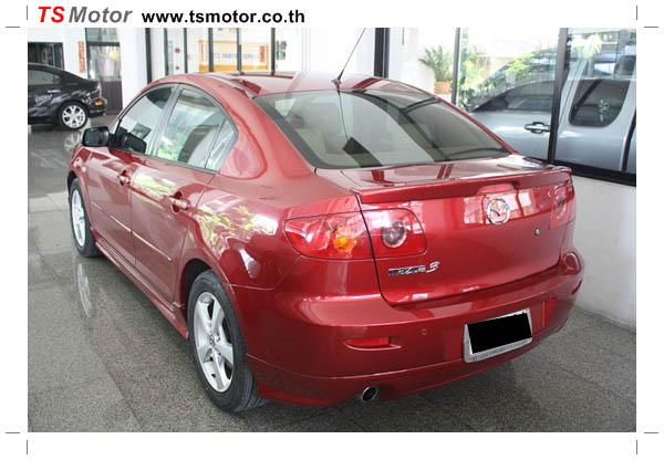 IMG 1142 ซ่อมสีรถยนต์ Mazda 3 เป็นสีแดง รถบ้าน เก็บงานเพื่อความเรียบร้อย