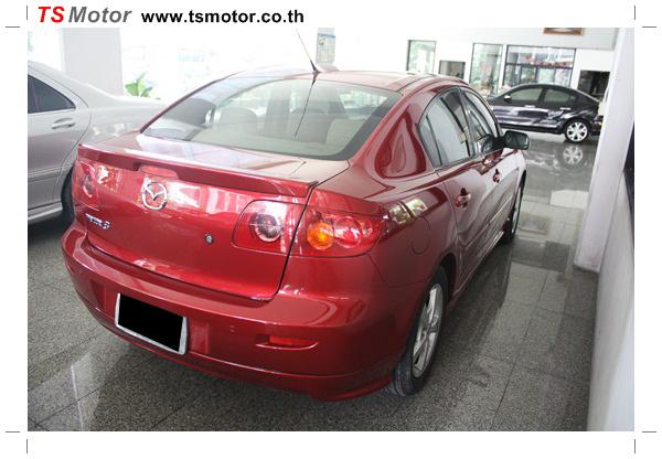 IMG 1143 ซ่อมสีรถยนต์ Mazda 3 เป็นสีแดง รถบ้าน เก็บงานเพื่อความเรียบร้อย