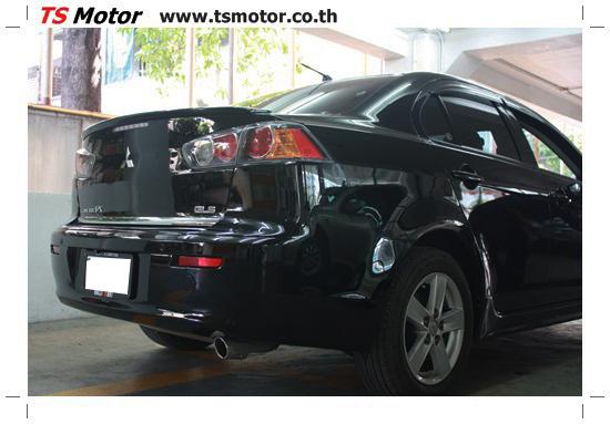 IMG 1819 งานเก็บสีรอบคัน เคลมประกันศรีเมือง Mitsubishi Lancer EX สีดำ เงาๆ อู่ทำสี อู่สี ศูนย์ซ่อมสี TS Motor