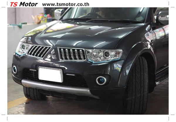 IMG 2108 งานซ่อมสีชิ้นส่วน Mitsubishi Pajero Sport สีเทาดำ โดยการ เคลมประกัน ศรีเมือง โดย TS Motor
