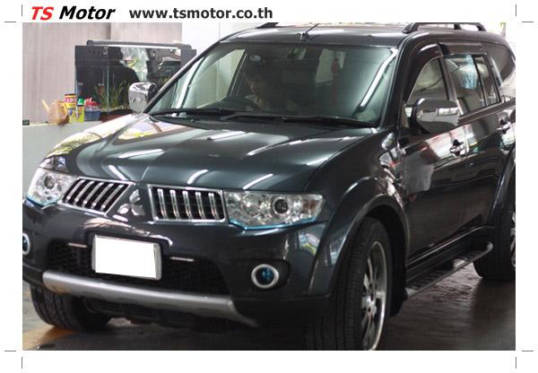 IMG 2109 งานซ่อมสีชิ้นส่วน Mitsubishi Pajero Sport สีเทาดำ โดยการ เคลมประกัน ศรีเมือง โดย TS Motor