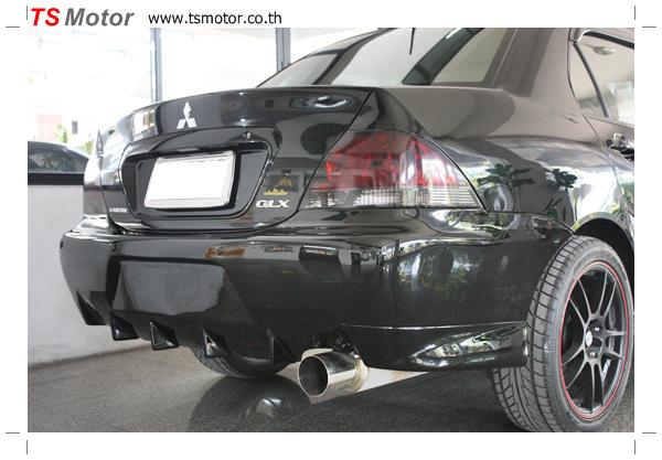 IMG 2383 งานซ่อมสี ตีโป่ง Mitsubishi New Lancer พร้อมติดตั้งชุดแต่งซิ่ง