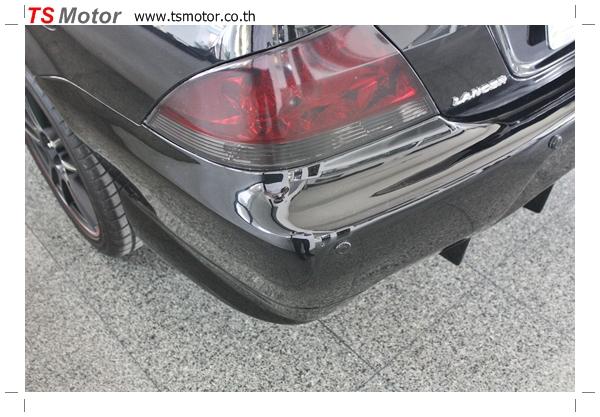 IMG 2394 งานซ่อมสี ตีโป่ง Mitsubishi New Lancer พร้อมติดตั้งชุดแต่งซิ่ง