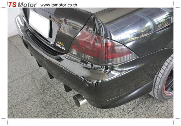IMG 2395 งานซ่อมสี ตีโป่ง Mitsubishi New Lancer พร้อมติดตั้งชุดแต่งซิ่ง