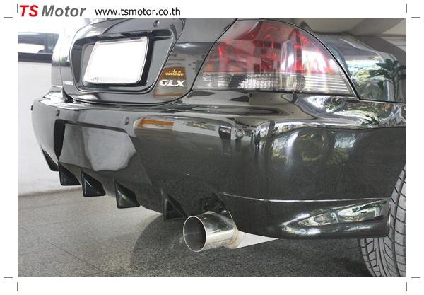 IMG 2396 งานซ่อมสี ตีโป่ง Mitsubishi New Lancer พร้อมติดตั้งชุดแต่งซิ่ง