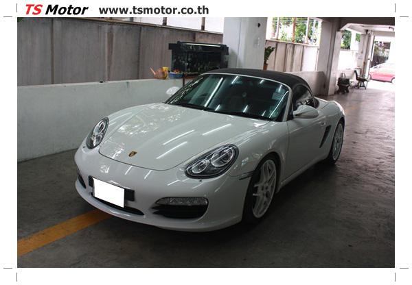 IMG 2679 อู่ซ่อมสี ศูนย์ซ่อมสี Porsche 911 Boxster  สีขาว พ่นสี เก็บสีชิ้นส่วน โดย ศูนย์ซ่อมสีรถ TS Motor