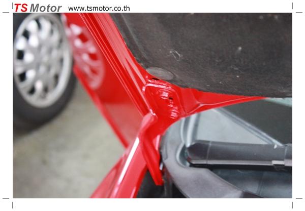 IMG 3982 TS Motor งานเปลี่ยนสีรถยนต์ Honda Civic FD สีแดง พร้อมเจาะแก้มลาย2 จัดกันแบบเต็มๆ Step 1 ถึงจบ