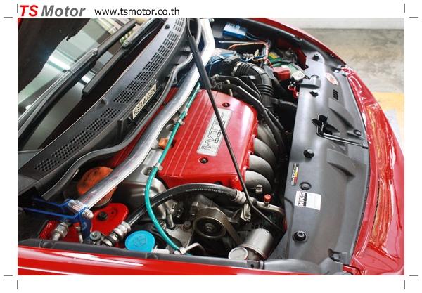 IMG 3984 TS Motor งานเปลี่ยนสีรถยนต์ Honda Civic FD สีแดง พร้อมเจาะแก้มลาย2 จัดกันแบบเต็มๆ Step 1 ถึงจบ