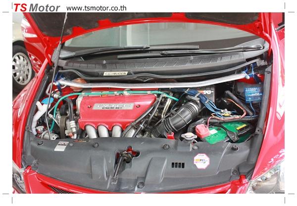 IMG 3985 TS Motor งานเปลี่ยนสีรถยนต์ Honda Civic FD สีแดง พร้อมเจาะแก้มลาย2 จัดกันแบบเต็มๆ Step 1 ถึงจบ