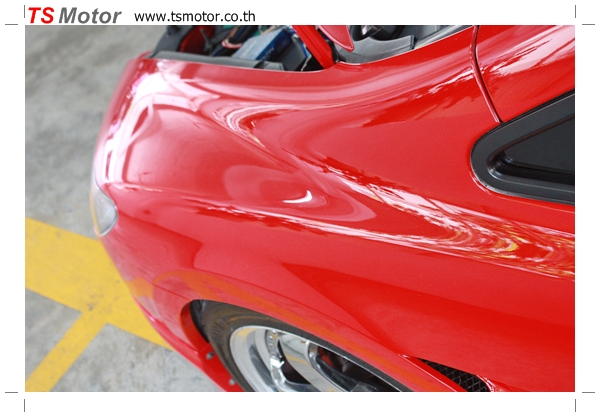 IMG 3993 TS Motor งานเปลี่ยนสีรถยนต์ Honda Civic FD สีแดง พร้อมเจาะแก้มลาย2 จัดกันแบบเต็มๆ Step 1 ถึงจบ