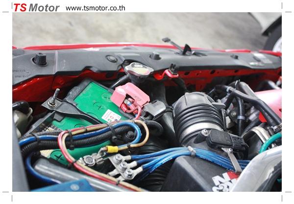 IMG 40021 TS Motor งานเปลี่ยนสีรถยนต์ Honda Civic FD สีแดง พร้อมเจาะแก้มลาย2 จัดกันแบบเต็มๆ Step 1 ถึงจบ