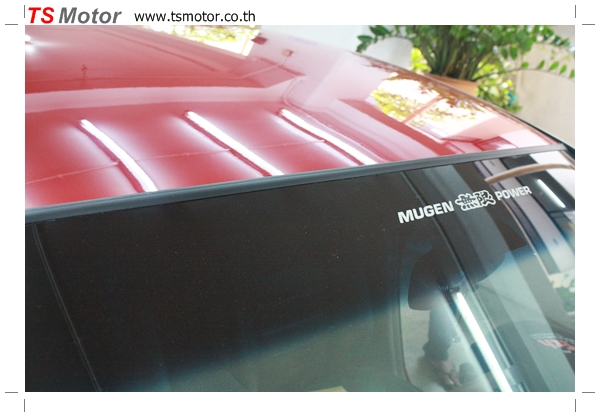 IMG 40031 TS Motor งานเปลี่ยนสีรถยนต์ Honda Civic FD สีแดง พร้อมเจาะแก้มลาย2 จัดกันแบบเต็มๆ Step 1 ถึงจบ