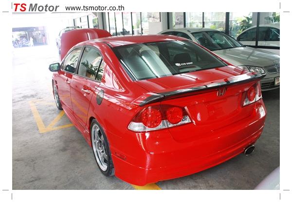 IMG 4011 TS Motor งานเปลี่ยนสีรถยนต์ Honda Civic FD สีแดง พร้อมเจาะแก้มลาย2 จัดกันแบบเต็มๆ Step 1 ถึงจบ