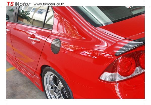 IMG 4012 TS Motor งานเปลี่ยนสีรถยนต์ Honda Civic FD สีแดง พร้อมเจาะแก้มลาย2 จัดกันแบบเต็มๆ Step 1 ถึงจบ