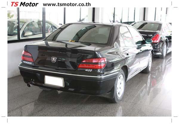 IMG 4018 อู่ซ่อมสี ศูนย์ซ่อมสี Peugeot 406  สีดำ พ่นสี เก็บสีรอบคัน โดย TS Motor