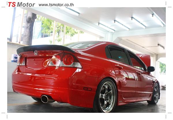 IMG 40181 TS Motor งานเปลี่ยนสีรถยนต์ Honda Civic FD สีแดง พร้อมเจาะแก้มลาย2 จัดกันแบบเต็มๆ Step 1 ถึงจบ