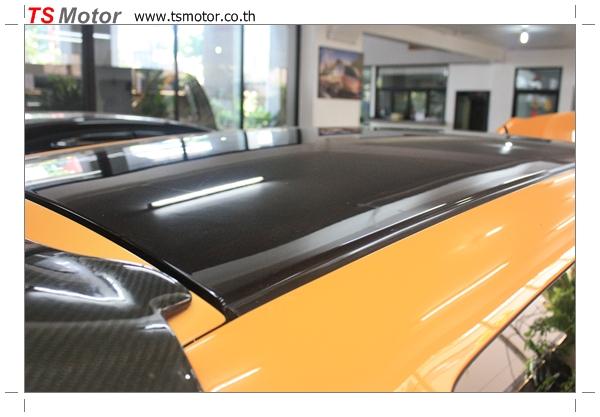 IMG 4503 งานเปลี่ยนสีรถยนต์ Honda Jazz 2007 สีส้ม หลังคาดำ ผลงานจาก อู่สีรถ TS Motor