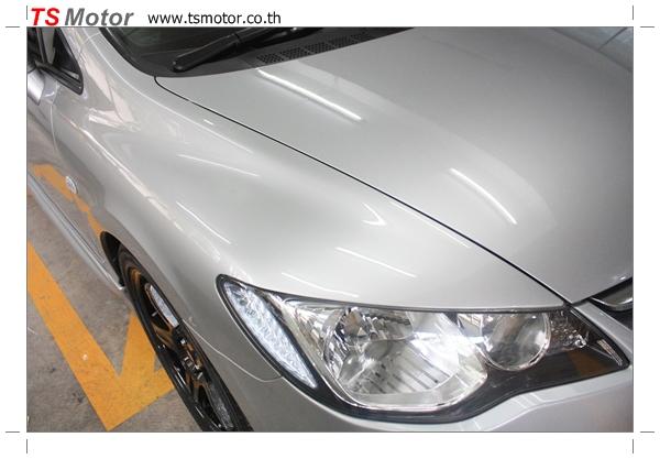 IMG 4777 งานซ่อมสีรถยนต์ Honda Civic FD สีบรอนซ์ ชุดแต่ง MUGEN